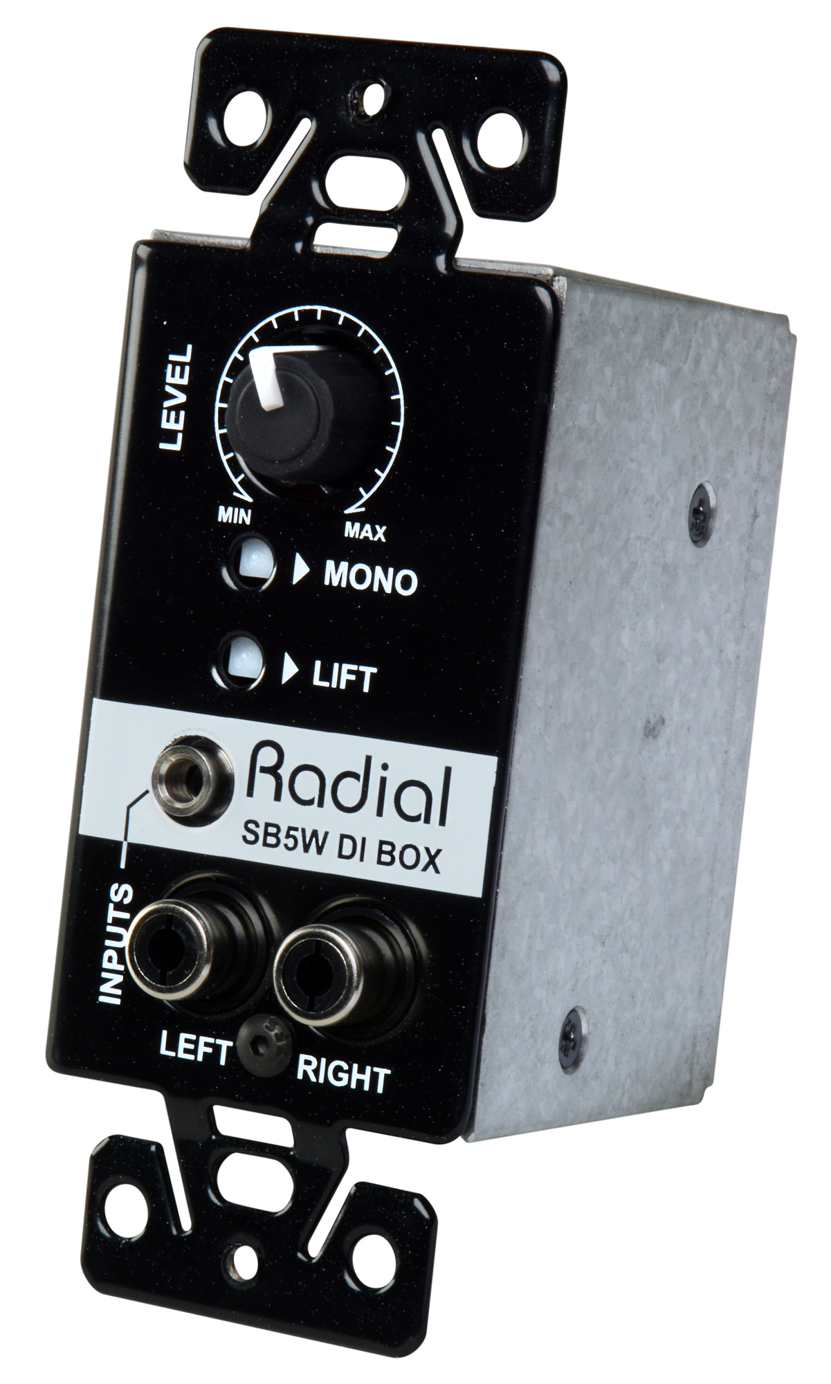 Radial Engineering StageBug SB5W Wall-Mounted Stereo Direct Box