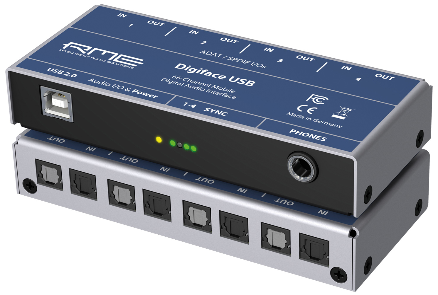 rme digiface usb digital audio interface with adat spdif. Black Bedroom Furniture Sets. Home Design Ideas