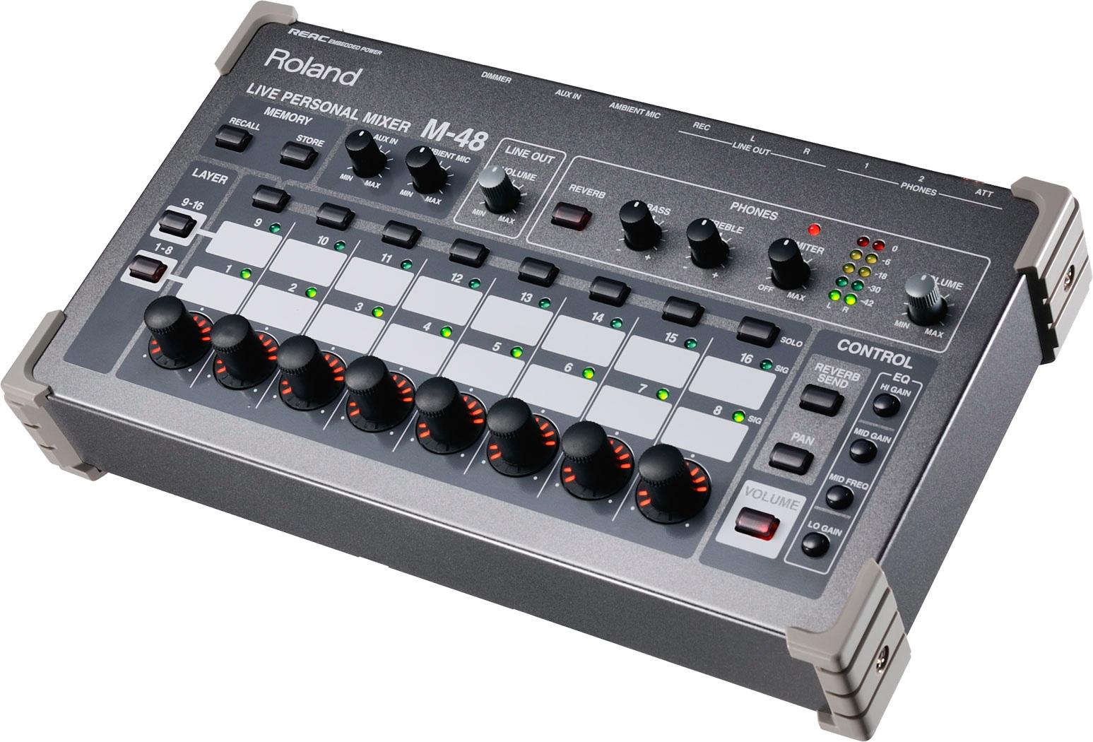 Roland M48 43 Input Live Personal Mixer