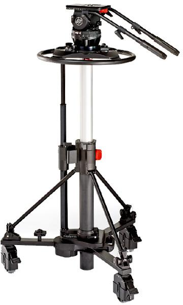 Sachtler 2580 Video 25 Plus FB Fluid Head (2501P) / Pedestal Combi 1-40 (5199) SACH-2580