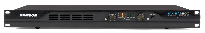 samson mxs2800 professional power amplifier. Black Bedroom Furniture Sets. Home Design Ideas