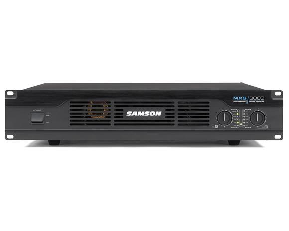 samson mxs3000 professional power amplifier. Black Bedroom Furniture Sets. Home Design Ideas