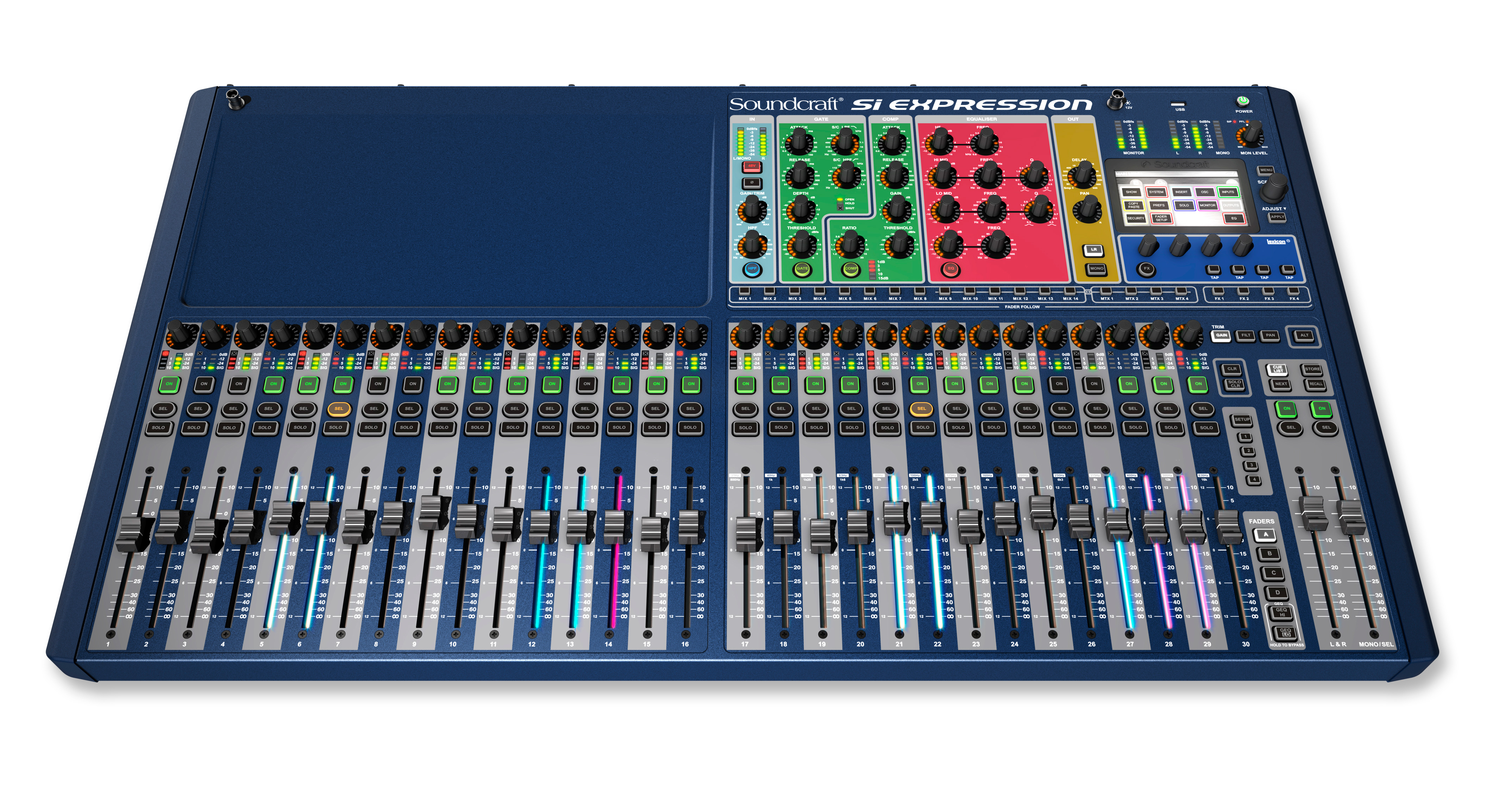 soundcraft si expression 3 32 channel digital mixer. Black Bedroom Furniture Sets. Home Design Ideas