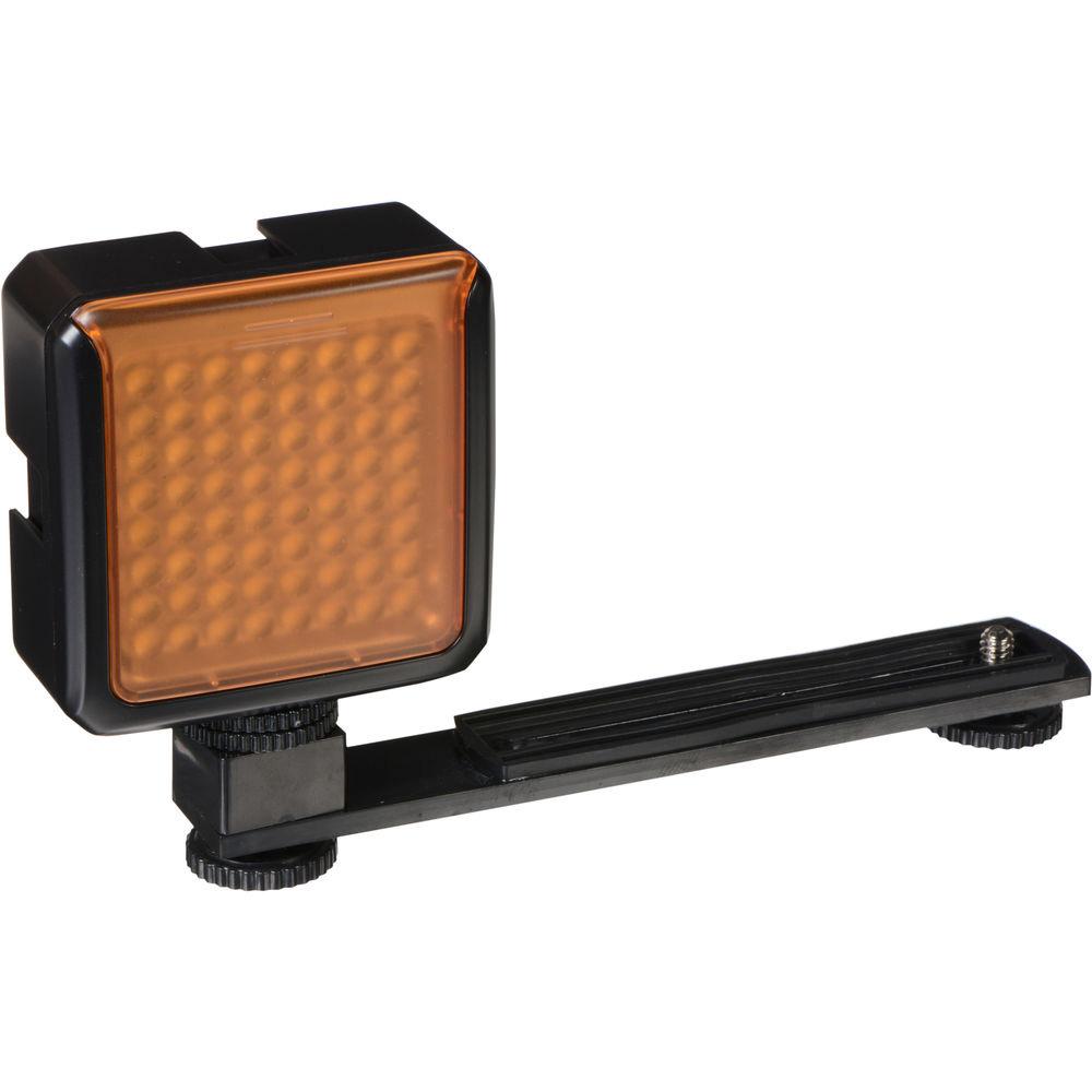 sima sl 300lxi pro led video light with filters 64 leds. Black Bedroom Furniture Sets. Home Design Ideas