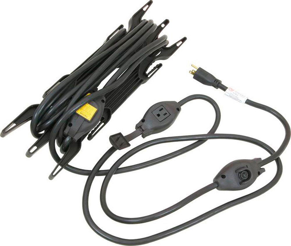 Stage Ninja MXC-25-12 25 ft 12 gauge 20 amp 5-Tap Extension Cord