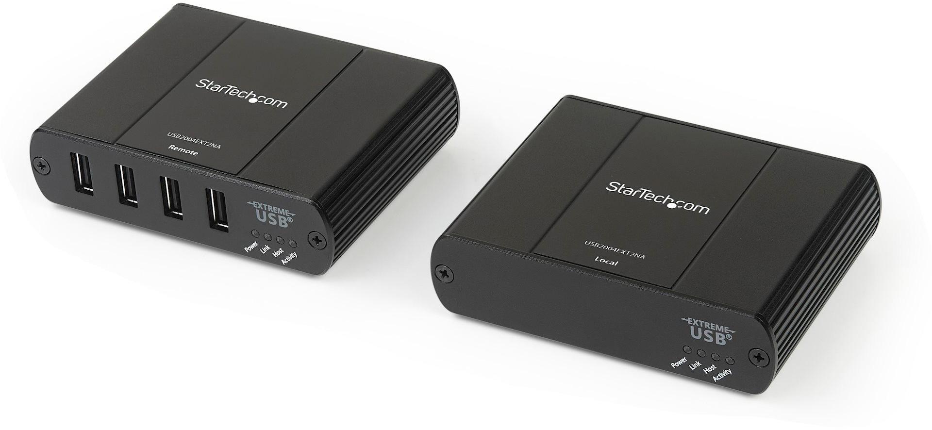 StarTech USB2004EXT2NA 4 Port USB 2.0 Extender Hub over Cat5e/Cat6 ST-USB2004EXT2NA