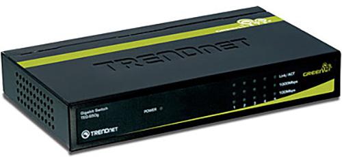 TRENDnet TEG S50G 5-Port Gigabit GREENnet Switch (Version V1.0R)  TEG-S50G