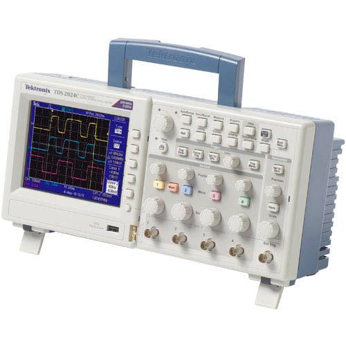 Best Tektronix Oscilloscope : Tektronix tds c oscilloscope digital storage mhz