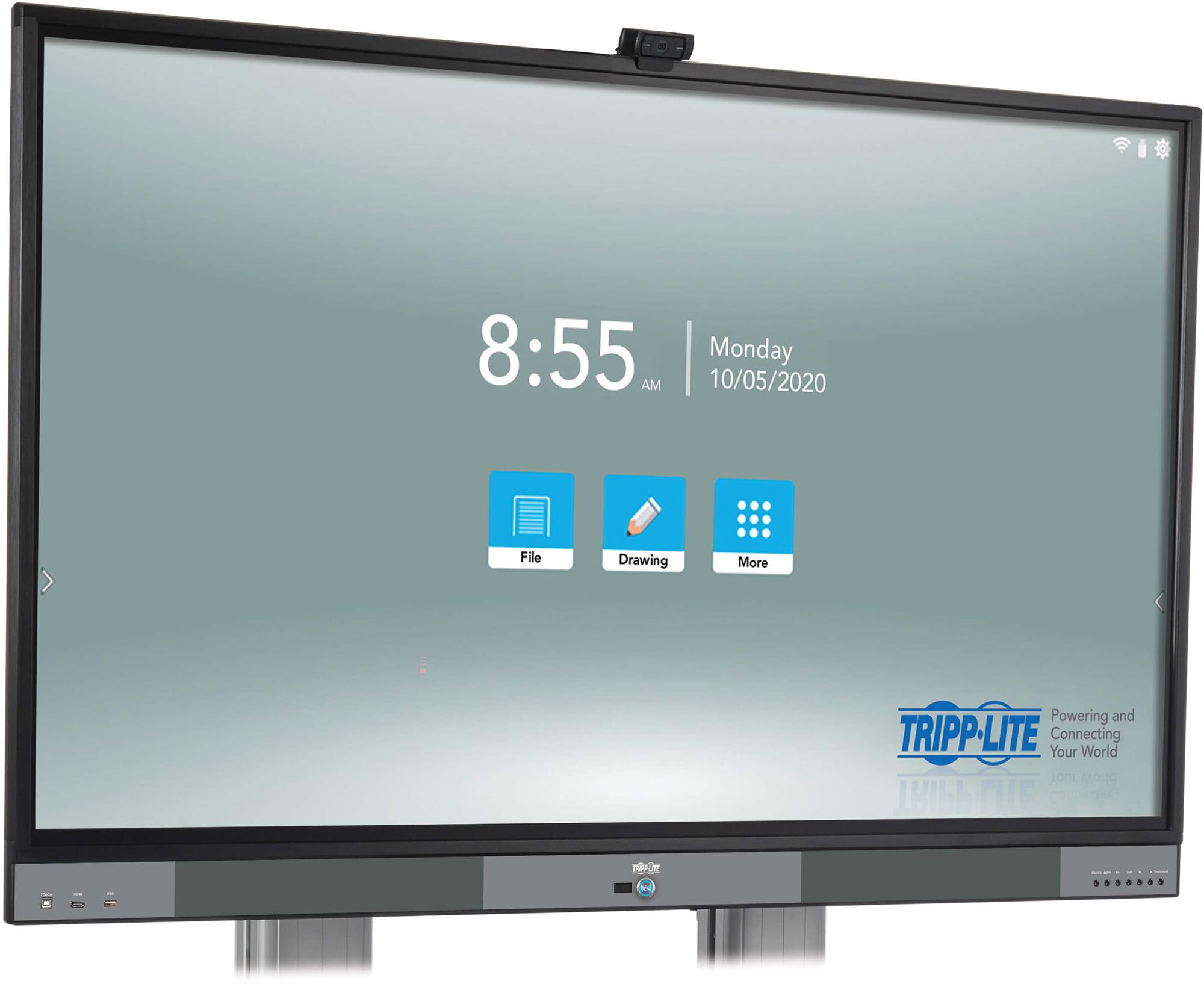 Tripp Lite DMTP55NO Interactive Flat-Panel Touchscreen Display 4K 60Hz UHD - 55 Inch TRL-DMTP55NO
