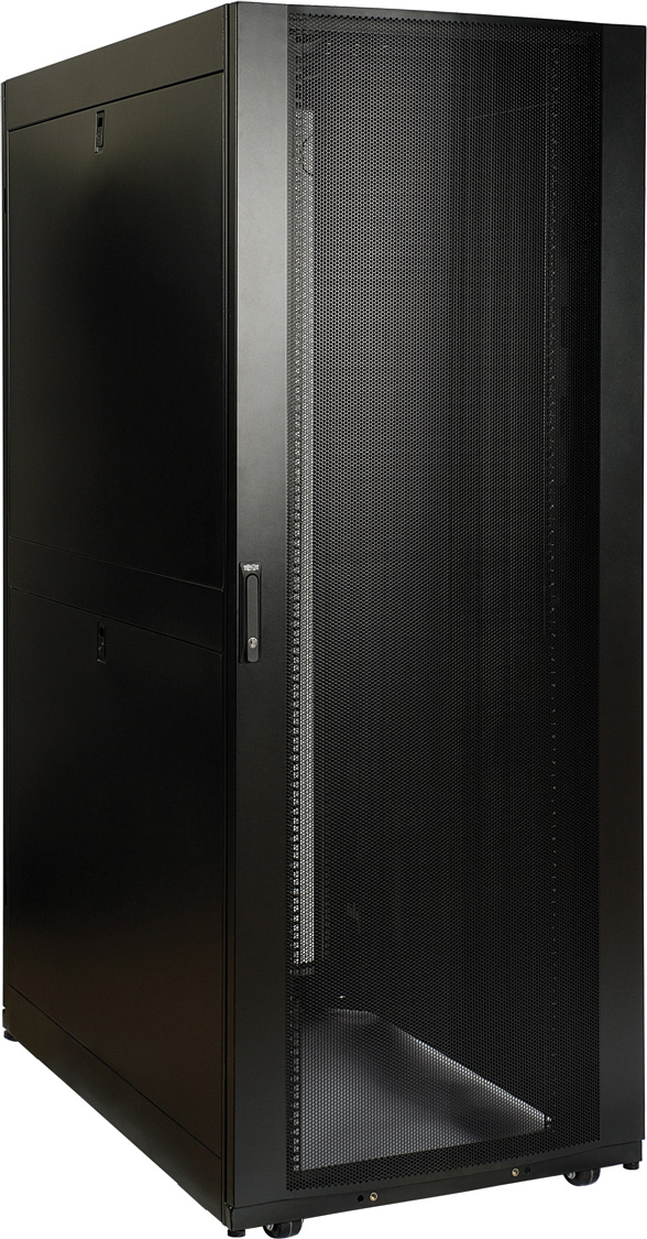 Tripp Lite SR48UBDPWD 48U Rack Enclosure Server Cabinet 48 Inch Depth 30  Inch Wide Drs & Sides