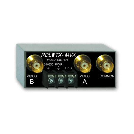 2x1 Radio Design Labs TX-MVX Manual Remote Controlled Video Switch ...