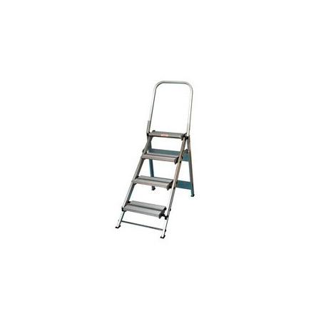 Miraculous Xtend Climb Ft 4 Ft Ultra 4 Step Aluminum Folding Step Stool Machost Co Dining Chair Design Ideas Machostcouk