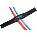 TecNec by Cord-Lox 5/8 Inch x 5 Inch Hook & Loop Closed Loop Cable Tie Wrap 10 Pack Black
