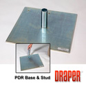 Draper 223004 PDR Flat Steel Base and Stud