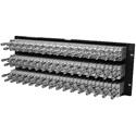 Canare 32MD-ST-4U 4Ru 32 Point Midsize Video Patch Panel 96 x MDVJ-STW 75 ohm Dual Video Jacks