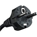 Kobiconn 8 Foot 220V IEC Power Cord - Black - Each