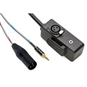 Sescom ABOOM-MB50 Boom Mic to Camera Cable XLR & 3.5mm Male to XLR & 3.5mm Female - 50 Foot