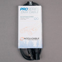 ACCU-CABLE AC3PDMX5PRO 3 Pin Pro DMX Cable - 5 Foot