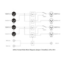 AJA ADA4 4 Channel Bi-Directional Audio A/D and D/A Converter