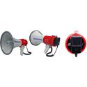 AmpliVox S602MR Mity Meg Plus Rechargeable 25 Watt Dynamic Megaphone with Microphone