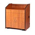 SN3430CH Multimedia Smart Podium - No Sound - Cherry