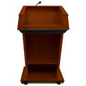 SS3040MH Patriot Lectern with Sound - Mahogany