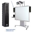 Amplivox SW1234 Line Array Speaker w/ 16 channel UHF wireless microphone)