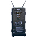 Amplivox SW925-96 Travel Partner Plus 96-Channel UHF Wireless Portable PA System - Over Ear Mic