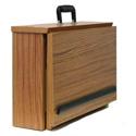 Amplivox W272WT Non-Sound EZ Speak Folding Lectern - Walnut