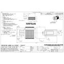 Amphenol 034-1042 High Density BNC Straight Hybrid Crimp Plug for Belden 179DT & RG-179 Cables - 75 Ohm