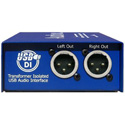 ARX USB-1 Audibox USB DI USB to Transformer Balanced Stereo XLR