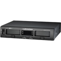 Audio-Technica ATW-1377 System 10 PRO Rack-Mount Digital Wireless System w/ 2 ATW-T1007 Mic Desk Stand Transmitters