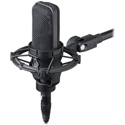 A/T Cardioid Condenser Mic with Shock Mount
