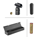 audio technica at897 line plus gradient condenser shotgun microphone. Black Bedroom Furniture Sets. Home Design Ideas