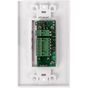 Atlas WPD-MIX42RT Wall Plate Input Select Switch Volume Control 10k Pot with System Indicator