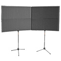 Auralex MAX-Wall 1141 Mobile Acoustical Vocal Booth - Grey