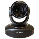 Avipas AV-1080 10x Full-HD 3G-SDI PTZ witth IP Live Streaming - Dark Grey