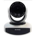 Avipas AV-1080 10x Full-HD 3G-SDI PTZ with IP Live Streaming - White