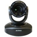 Avipas AV-1082G USB 2.0 Full HD 1080p PTZ Camera with 10X Optical Zoom and 5X Digital Zoom - Gray