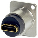 AVP UMHDMI-DFF Maxxum HDMI 1.4 Feedthru Black Chassis Adapter