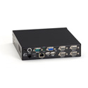 Black Box KV9404A 4-Port ServSwitch EC KVM Switch - Built-In IP for PS/2 - USB