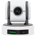 BirdDog Studio BDP100W Eyes P100 1080P Full NDI PTZ Camera with SDI - White