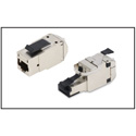 Belden RVAMJKSME-B24 REVConnect 10GX Modular Jack T568 A/B STP Metal - 24 Pack