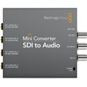 Blackmagic CONVMCSAUD SDI to Audio Mini Converter - De-Embedder