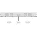 Blackmagic VHUBUV/IF/OPT Universal Videohub Optical Fiber Interface Singlemode LC Duplex
