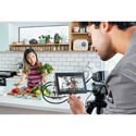 Blackmagic Design BMD-HYPERD/AVIDAS74K Video Assist 4K 7 Inch High Resolution Monitor with Ultra HD Recorder Li-Ion batt