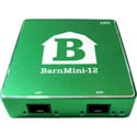 Barnfind BARNMINI-12 Transmitter Receiver with 2 Open SFP Ports for Signals up to 12G