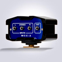 Beachtek MCC-2 Two-Channel Audio Adapter and Bracket