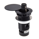Beyerdynamic GMS-32 Shock-Mounted Installation Holder with Cover for the Classis GM and RM Microphones 3-Pin - Black
