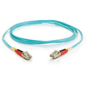 Cables To Go 33050 OM3 Duplex LC to LC Fiber Cable - 10 Meter
